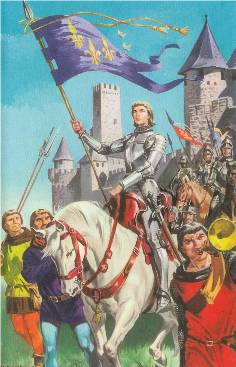 Joan of Arc - Book of Saints